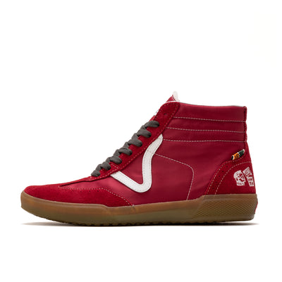 Vans x TH Epoch Racer LX - Suede Chili Pepper / Med Gum - Side - Off The Hook Montreal