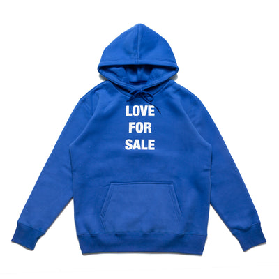 Chrystie Love For Sale Hoodie - Blue - Front - Off The Hook Montreal
