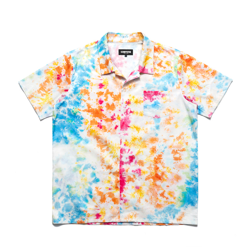 Button Up Shirt Tie Dye