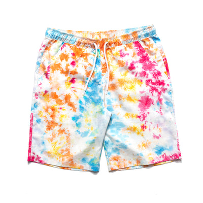 Chrystie Shorts - Tie Dye - Front - Off The Hook Montreal