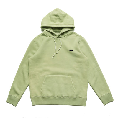 Chrystie Small Patch Logo Hoodie - Weed Green - Front - Off The Hook Montreal