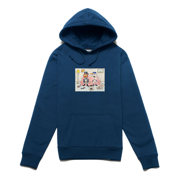 Chrystie CHRYSTIEFA2012-NVY NY Kids Hoodie Navy front available at off the hook montreal