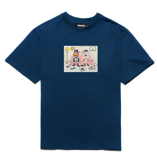 Chrystie CHRYSTIEFA2013 NY Kids T-Shirt Navy front available at off the hook montreal