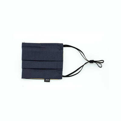 Atelier XIX - Double Pleat + Adjustable Ears WovenCotton - Navy- Off The Hook Montreal #color_navy