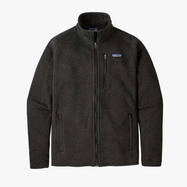 Patagonia 25528 M Better Sweater Jacket Black front available at off the hook montreal