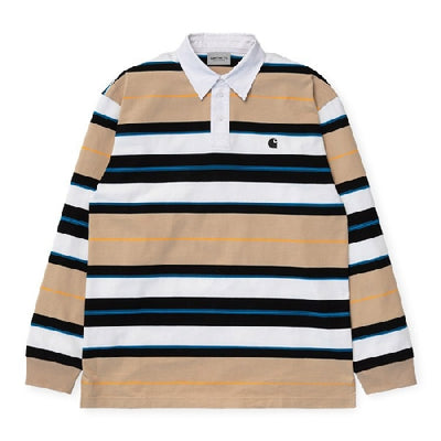 Carhartt WIP Morgan Polo - Hull - Front - Off The Hook Montreal