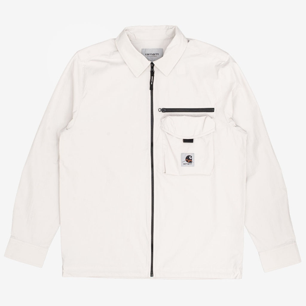 carhartt wip Hayes Shirt Jacket Pebble is now available at off the hook montreal