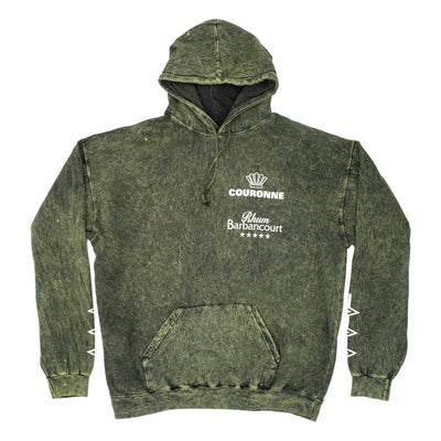 Moonshine Sapologie Hoodie - Mineral Green - Front - Off The Hook Montreal