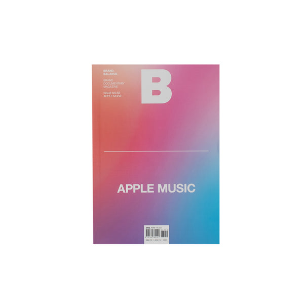 The Apple Music issue from B Magazine features: comments by artists, curatorial way in which five brands use the music, the birth of Apple Music and its controversies. Product code: NDH.55APP Now at OTH. off the hook streetwear boutique canada montreal publications