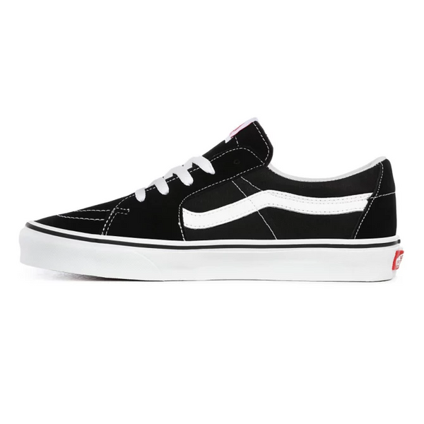 Vans VN0A4UUK6BT Sk8-Low Shoes Black/White - side - available at off the hook montreal