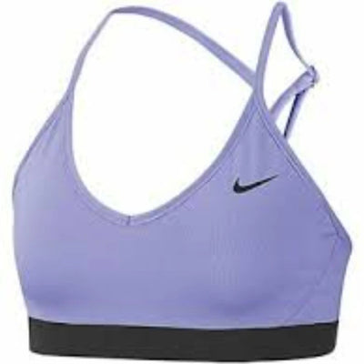 NIKE 878614.569 INDY SPORTS BRA THISTLE/BLACK L available at off the hook Montreal