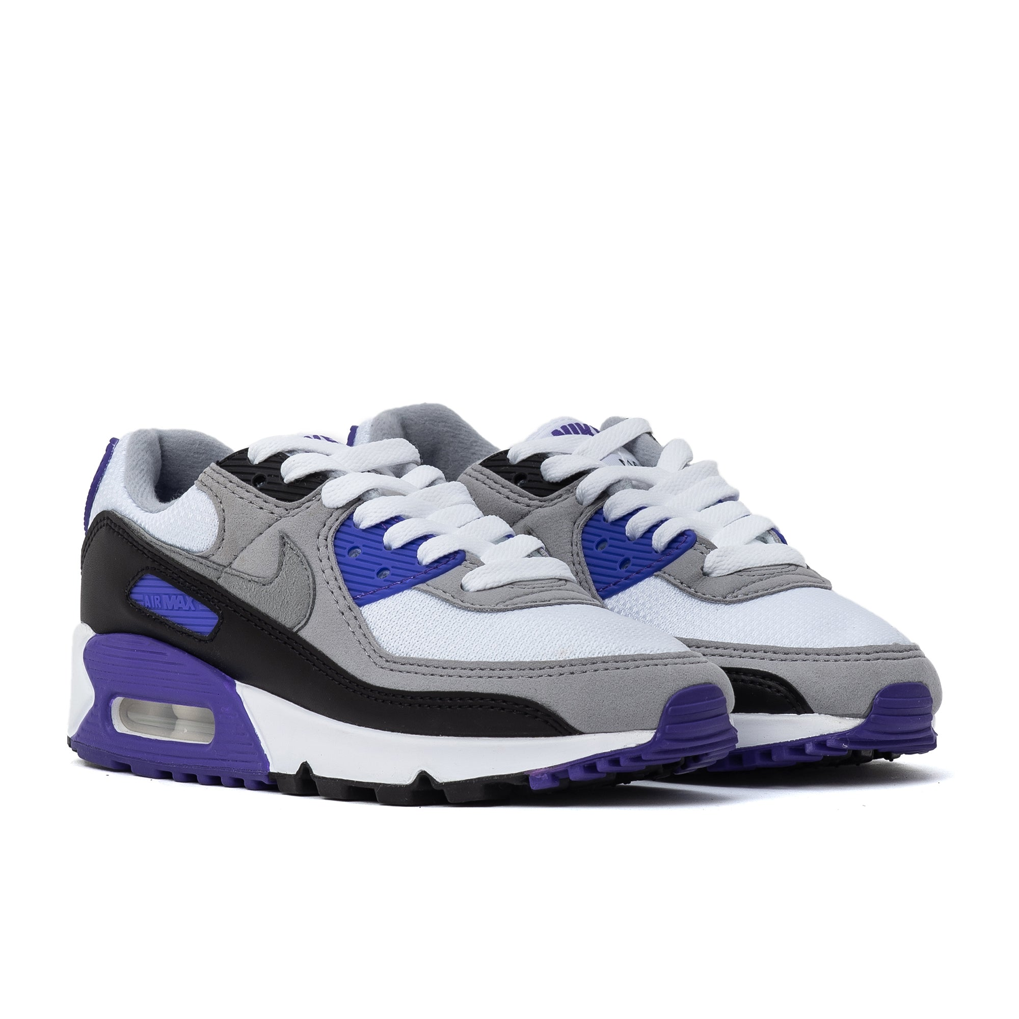 Nike Air Max 90 White Grey Grape W – Off The Hook