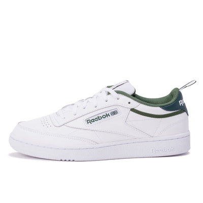 Reebok Club C 85 - White / Green - Side - Off The Hook Montreal