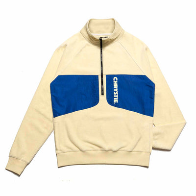 Chrystie CHRYSTIEHO2003-CRM-L OG Logo Mock Neck Polar Fleece Cream front available at off the hook montreal