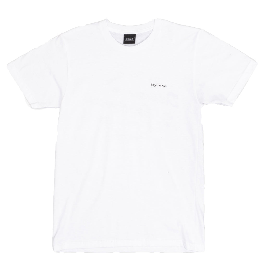 OTH x RC & Kelly Linge de Rue T-Shirt White