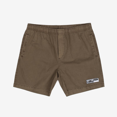 OTH 90's Beach Short - Khaki - Front - Off The Hook Montreal