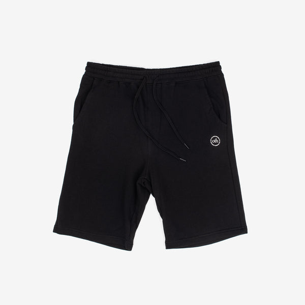 Designed with simplicity in mind, the OTH Summer 2020 capsule offers clean looks so you can rep the team all season. The 3.0 Summer Shorts in Black sits at the knee, with a regular fit.   75% Cotton / 25% Polyester French Terry  Silkscreen logo 2 front pockets / 1 back pocket off the hook oth streetwear boutique canada montreal