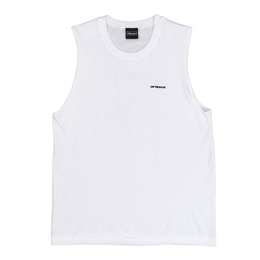by OTH Summer Tank Top - White - Front - Off The Hook Montreal