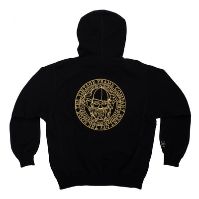 VF x OTH Hoodie - Black - Back - Off The Hook Montreal