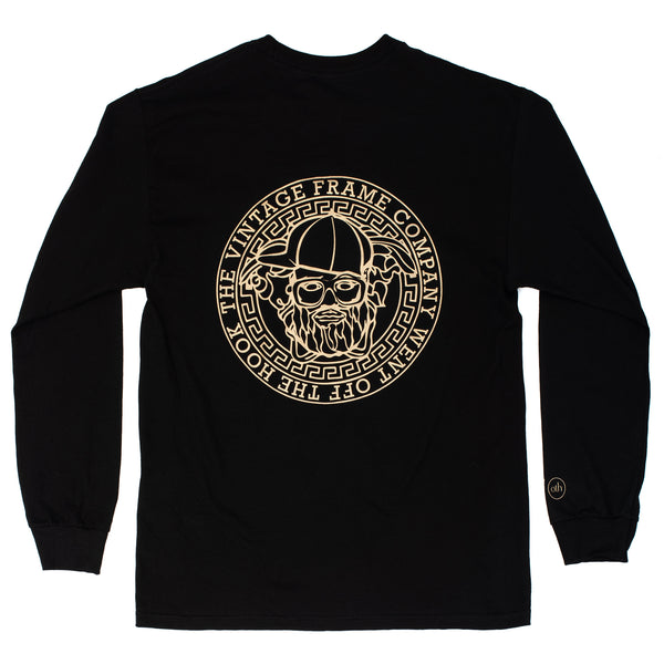 Cadres Vintage Off The Hook T-Shirt L / S Noir