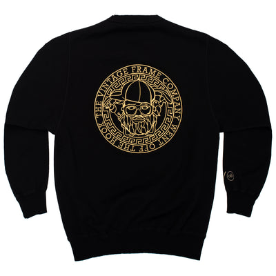 VF x OTH Crewneck - Black - Back - Off The Hook Montreal