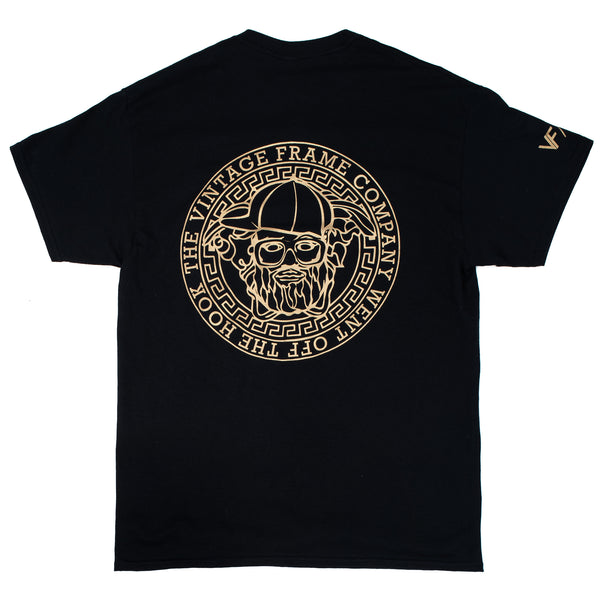 Vintage Frames Went Off The Hook T-Shirt Black