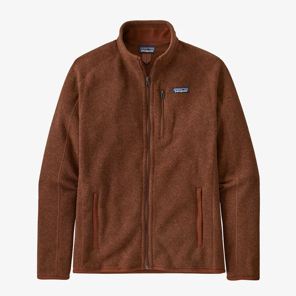 Patagonia 25528 M Better sweater Jacket Red front available at off the hook montreal
