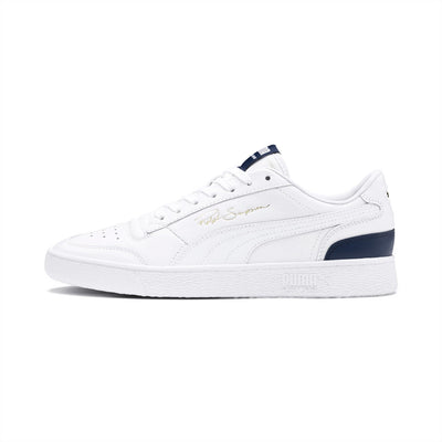 Puma 37084602 Ralph Sampson Lo White / Peacoat - side - available at off the hook montreal