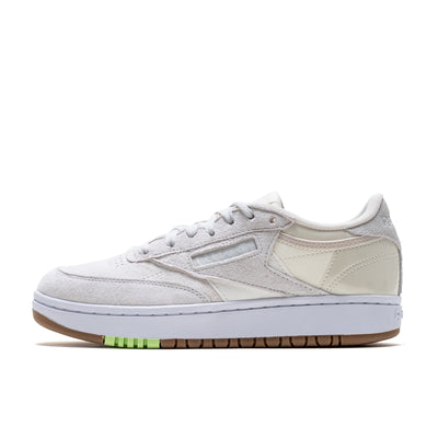 Reebok Club C Double - Chalk/Classic White - Side - Off The Hook Montreal