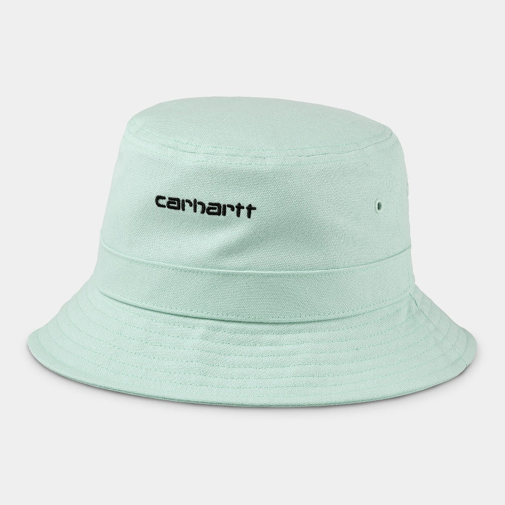 Carhartt Wip Script Bucket Hat Green/Black is now available at off the hook montreal