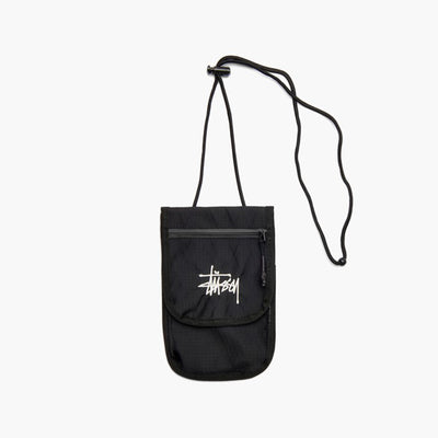 Stussy 134233 Travel Pouch Black front available at off the hook montreal