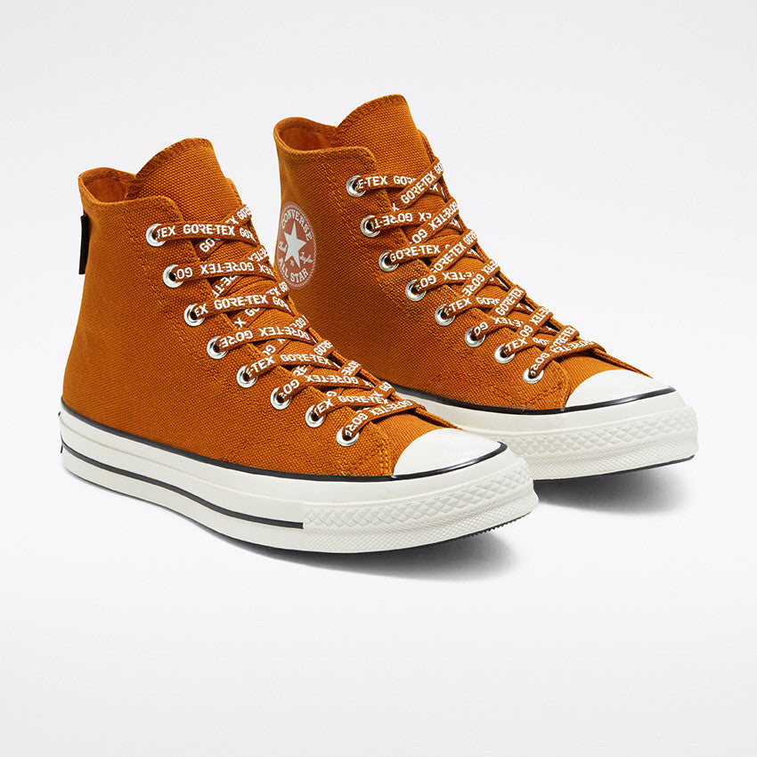 Converse 168858 Chuck 70 Gore-Tex Hi Amber/Egret/Black front available at off the hook montreal