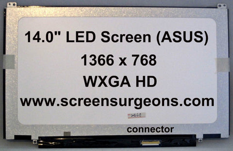 ASUS Q400A Laptop LED Screen - Screen Surgeons