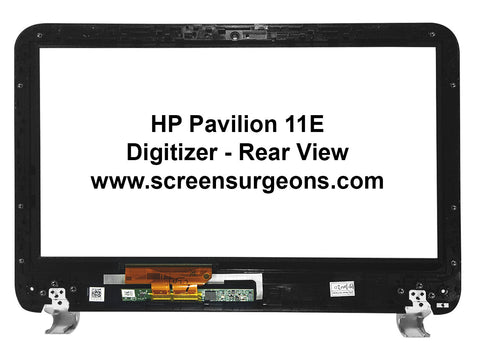 HP 11-E Touchscreen Replacement Digitizer and Bezel Assembly - Screen Surgeons