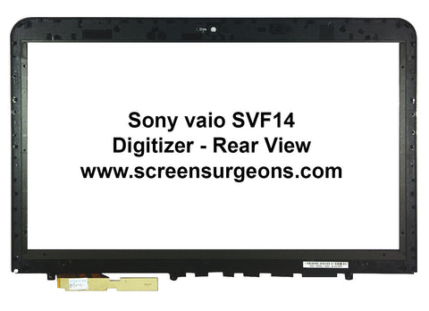 Sony SVF14A Touchscreen Replacement Digitizer