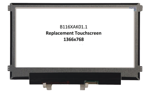 HP Chromebook 11 G6 EE Replacement Touch Screen - Screen Surgeons