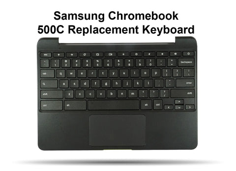 Samsung Chromebook 500C Replacement Keyboard, Palmrest, Touchpad Assembly - Screen Surgeons