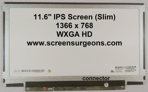"11.6"" LED IPS Backlight Laptop LCD Panel - Screen Surgeons"