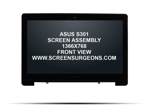 ASUS S301 S301LA Replacement Touchscreen Assembly - Screen Surgeons