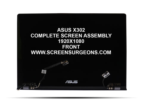 ASUS X302 Complete Replacement Screen Assembly - Screen Surgeons