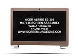 Acer Aspire S3-301 MS7346 Complete Screen Assembly - Screen Surgeons