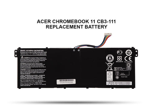 Acer Chromebook 11 CB3-111 Replacement Battery - Screen Surgeons