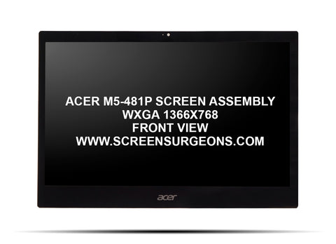 Acer M5-481P Replacement Screen Assembly - Screen Surgeons