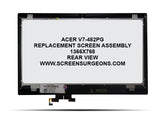 Acer V7-482PG Replacement Screen Assembly - Screen Surgeons