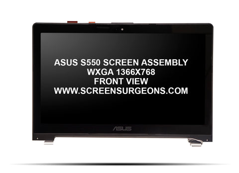 Asus S550 Replacement Digitizer LCD Screen Assembly