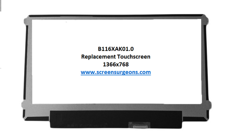 B116XAK01.0 Replacement Touch Screen for Laptop - Screen Surgeons