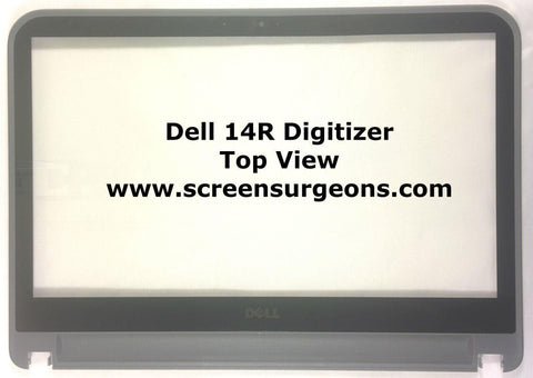 Dell Inspiron 5421 14R i14RMT Touchscreen Replacement Digitizer & Bezel Assembly