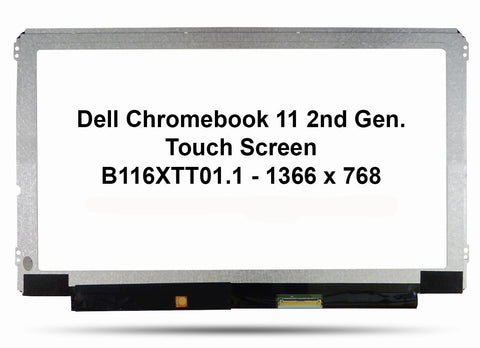 Dell Chromebook 11 2nd Generation Replacement TouchScreen - Screen Surgeons