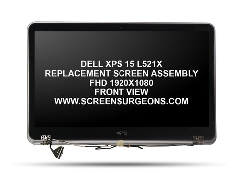 Dell XPS 15 L521X Replacement Screen Assembly - Screen Surgeons