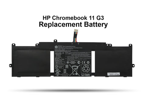 HP Chromebook 11 G3, G4, G4 EE Replacement Battery - Screen Surgeons
